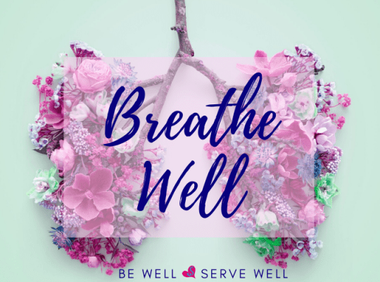 breathe well