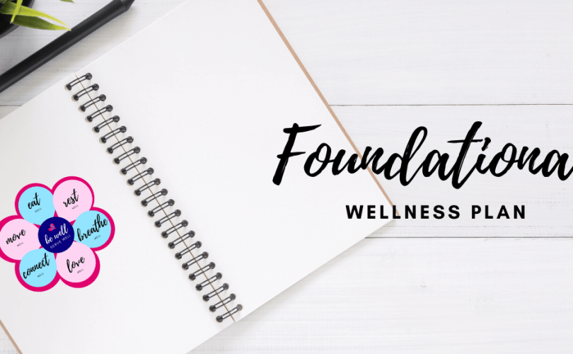 Foundational wellness plan